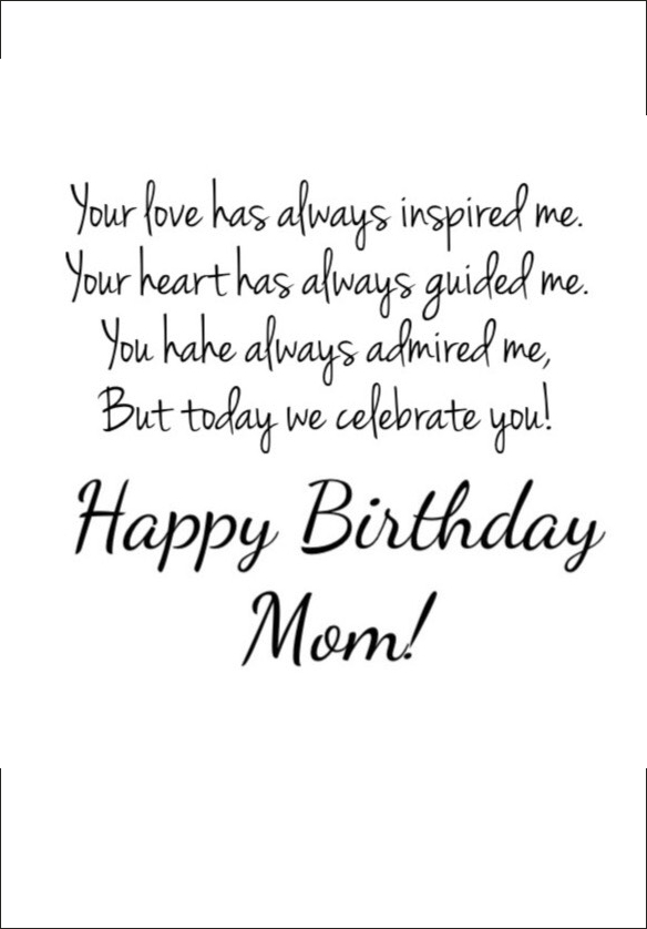 Happy Birthday Quotes For Mom Extraordinary Happy Birthday Mom  39 Quotes To Make Your Mom Cry With Happiness