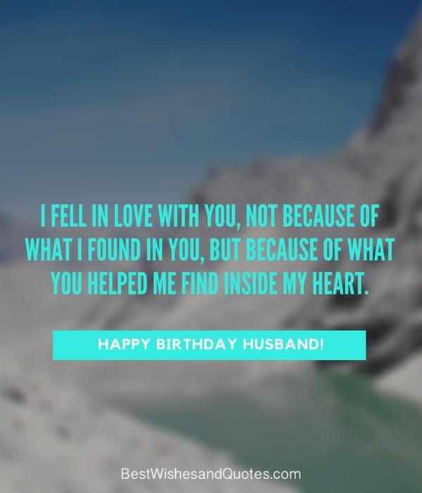 Happy Birthday Husband...