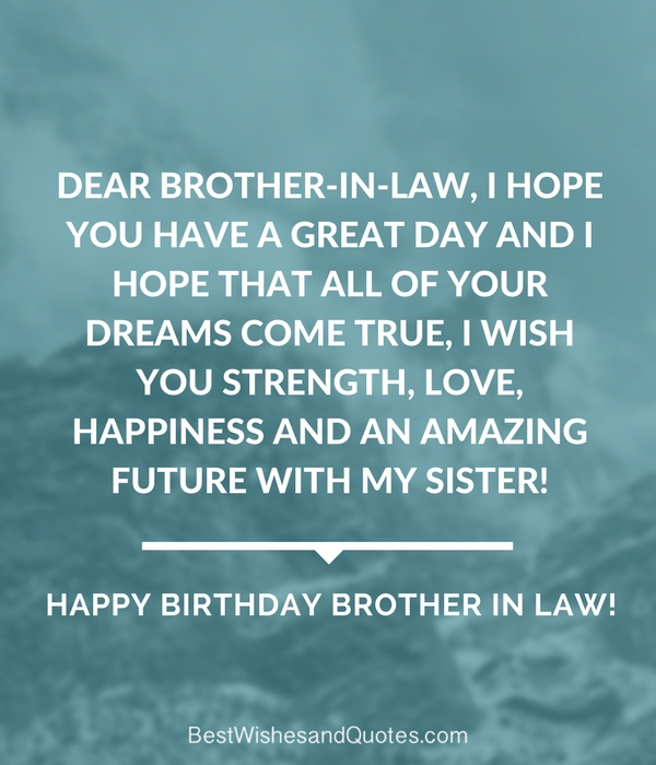 Happy Birthday Brother In Law Images