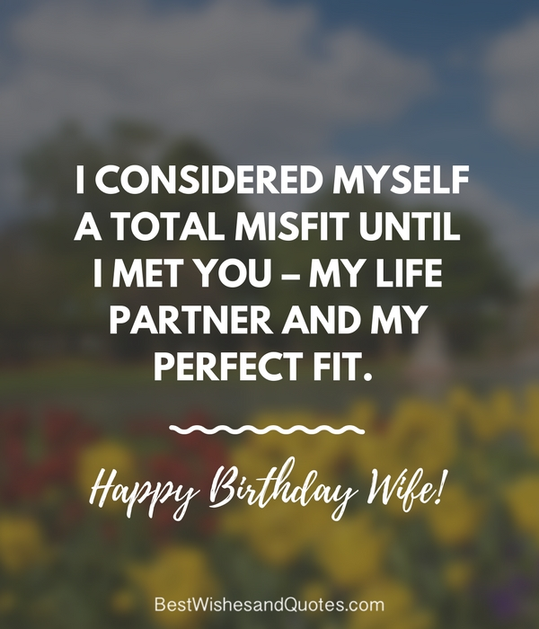 Birthday Quotes For Wife Funny: Say Happy Birthday With A Lovely Quote