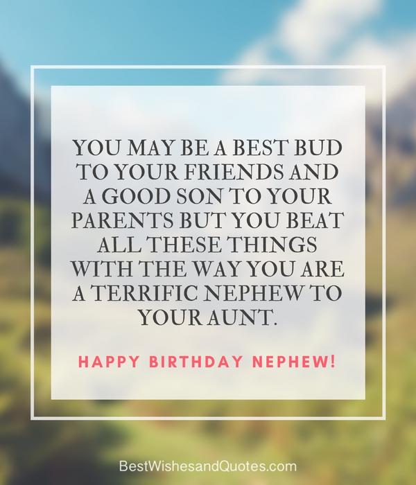 Happy birthday nephew 35 awesome birthday quotes he will love sharetweetpin m4hsunfo