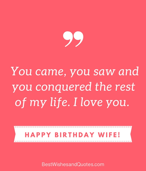Funny Birthday Meme For Wife : Happy birthday wife say with a lovely quote