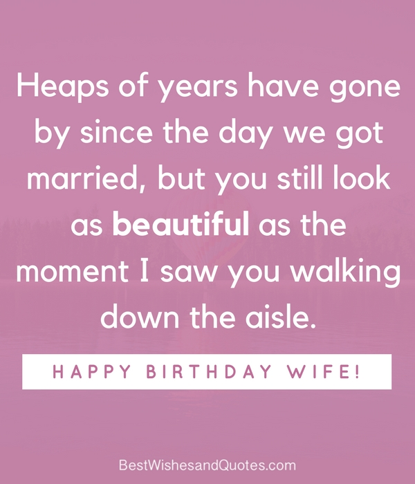Happy birthday wife say happy birthday with a lovely quote sharetweetpin m4hsunfo