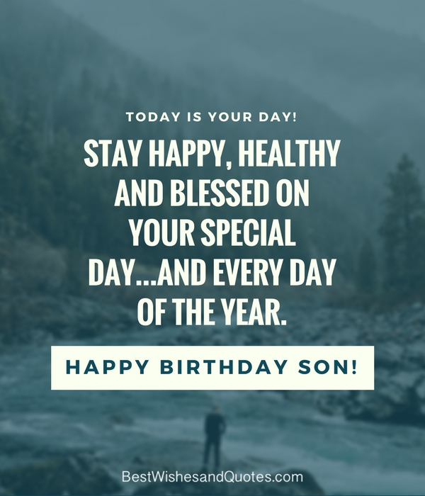 happy birthday wishes to son