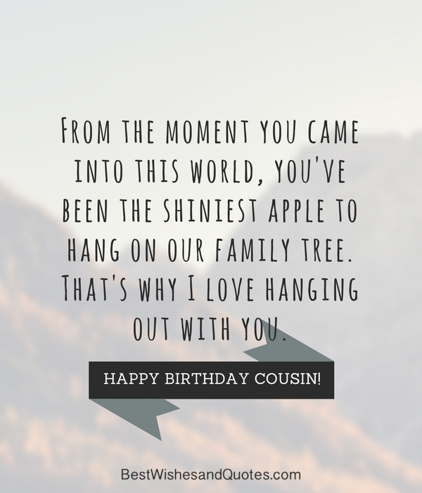 Happy birthday cousin 35 ways to wish your cousin a super birthday sharetweetpin m4hsunfo