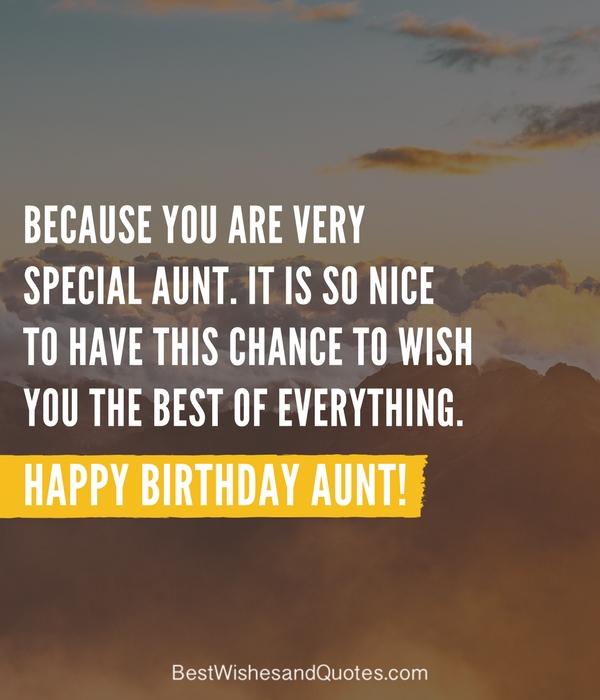 Happy Birthday Aunt - 35 Lovely Birthday Wishes that You ...