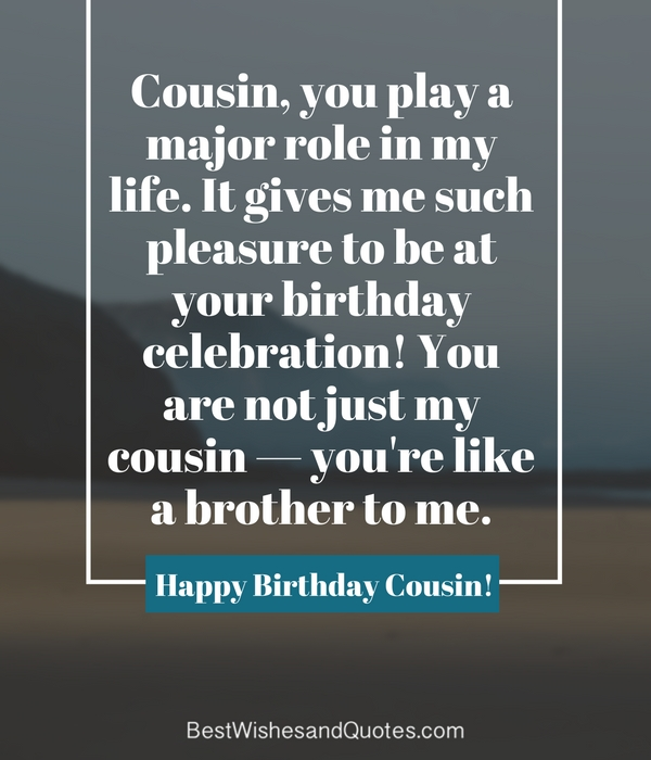Happy Birthday Cousin 35 Ways To Wish Your Cousin A Super Birthday