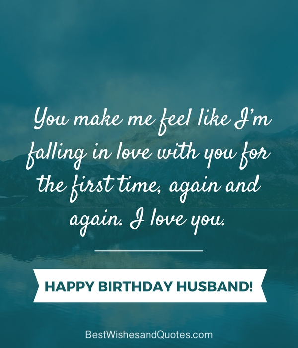 Birthday Quotes For Husband Extraordinary Happy Birthday Husband 48 Romantic Quotes And Birthday Messages