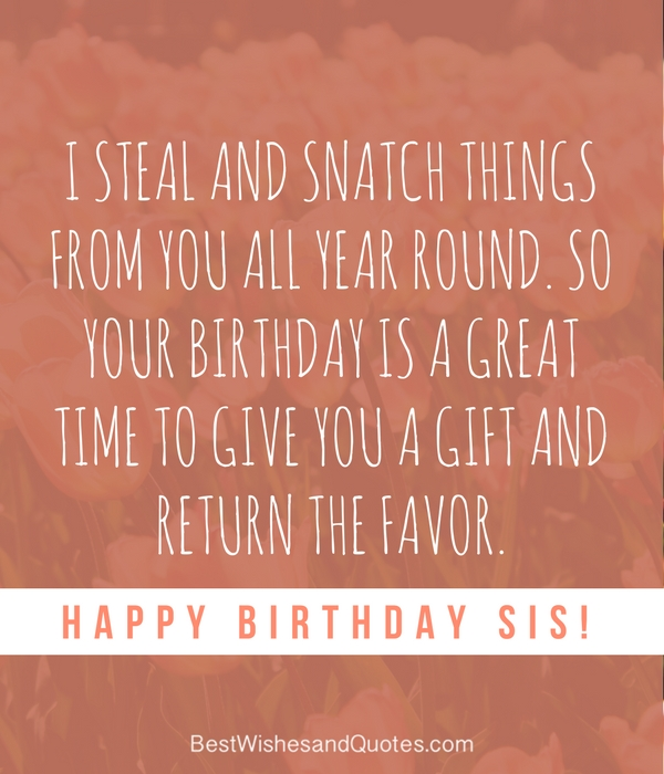 35 special and emotional ways to say happy birthday sister happy birthday sister meme m4hsunfo