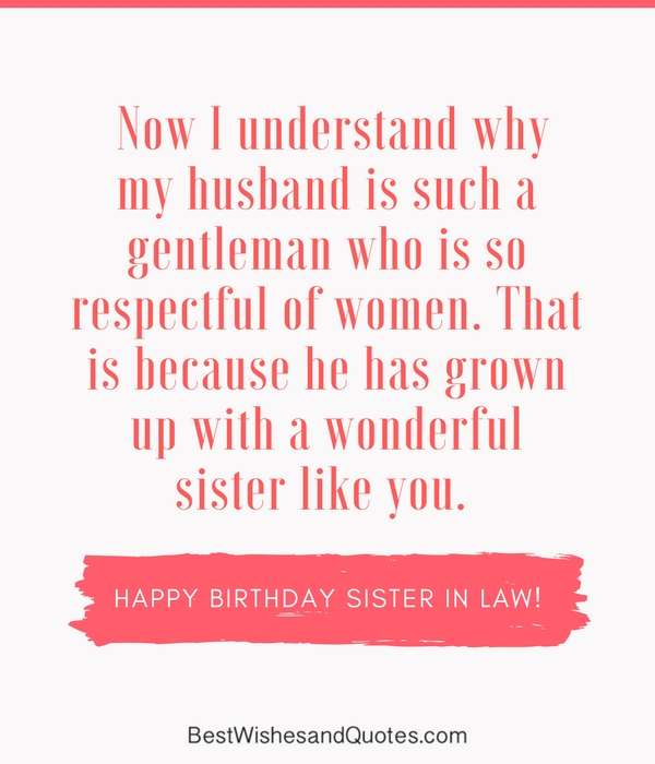 Quotes For My Sister In Law: Happy Birthday Sister In Law