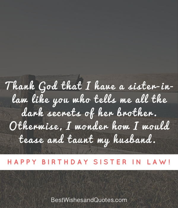 Happy Birthday Sister In Law U2013 Quotes And Messages