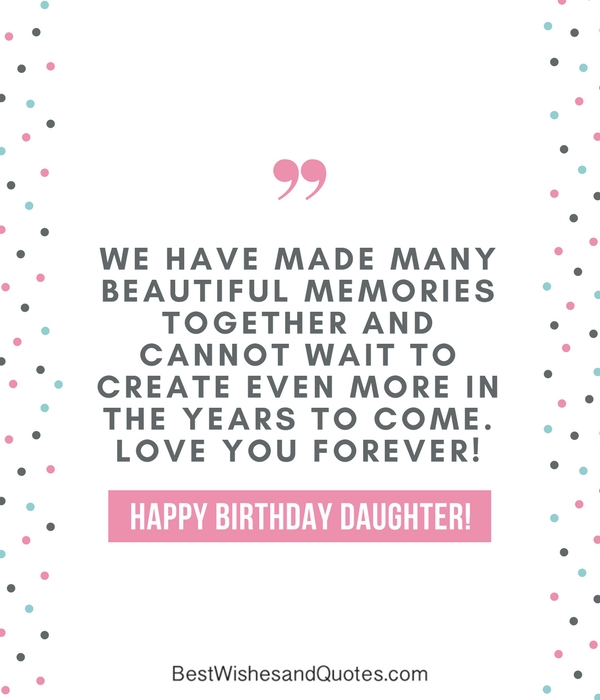 35 Beautiful Ways to Say Happy Birthday Daughter - Unique Quotes