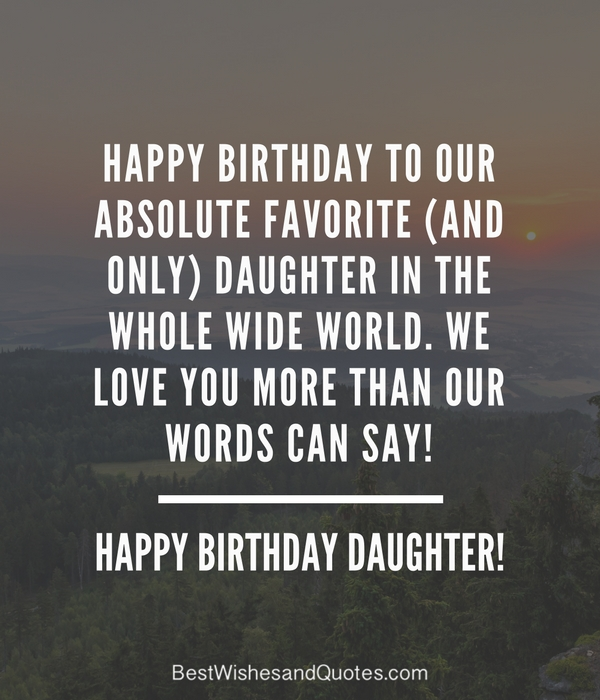Happy Birthday Universe Quotes: 35 Beautiful Ways To Say Happy Birthday Daughter