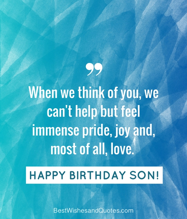 35 unique and amazing ways to say happy birthday son happy birthday wishes son m4hsunfo