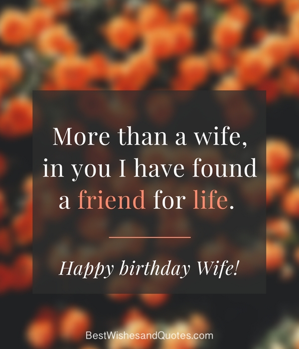 birthday wishes for wife romantic and passionate - 600×700