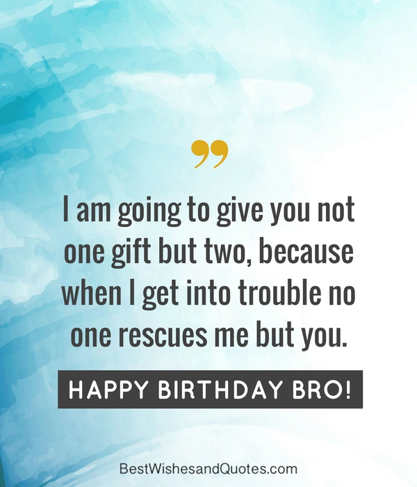 Happy birthday brother 41 unique ways to say happy birthday bro happy birthday brother sciox Image collections