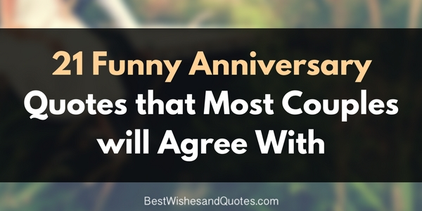 original and funny anniversary quotes for couples