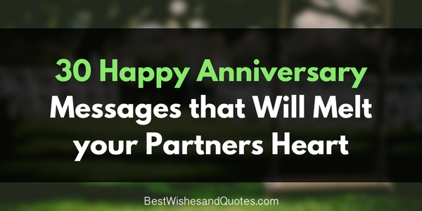 These Happy Anniversary Messages For Your Partner Are Beautiful