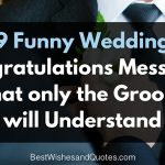 funny wedding congratulations messages