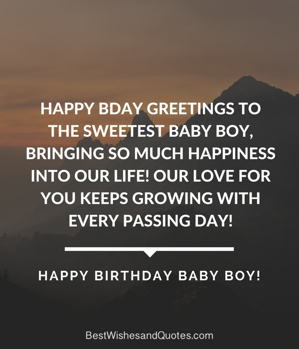 Happy birthday baby boy 33 emotional quotes that say it all sharetweetpin m4hsunfo
