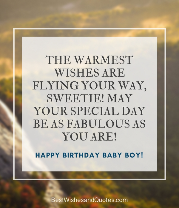 Happy Baby Boy Quotes: 33 Emotional Quotes That Say It All