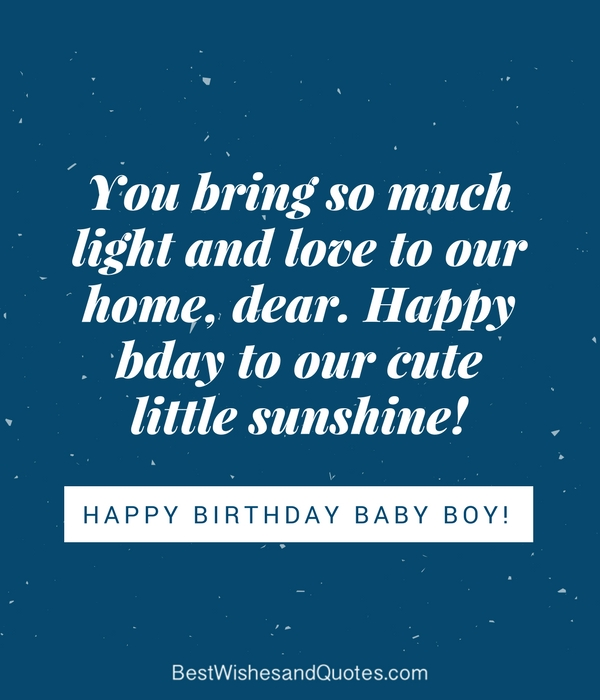 happy birthday baby boy 33 emotional quotes that say it all