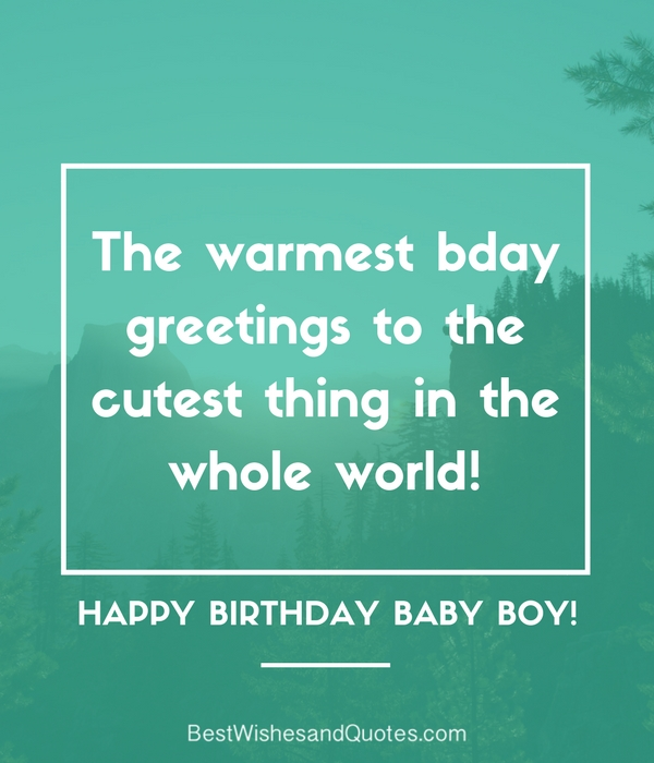 Happy birthday baby boy 33 emotional quotes that say it all happy birthday baby boy quotes and messages m4hsunfo