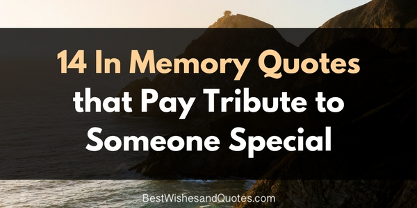 in memory quotes