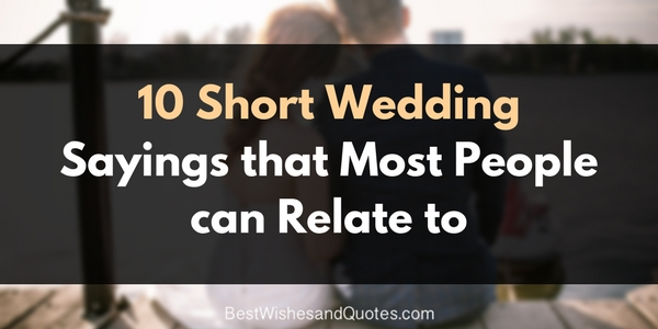 Sharetweetpin There Are Wedding Sayings