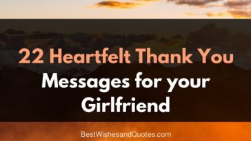 22 thank you messages for girlfriend