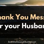 20 thank you messages for husband