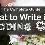 what to write in wedding card guide