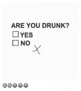 Go away you are drunk meme