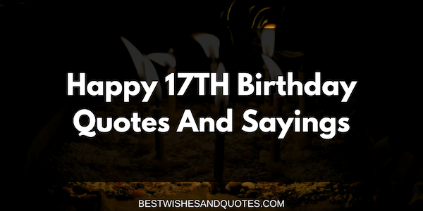 17 Best Criticism Quotes On Pinterest: Happy 17th Birthday Quotes And Sayings